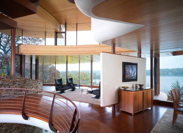Chenequa Residence Living Room