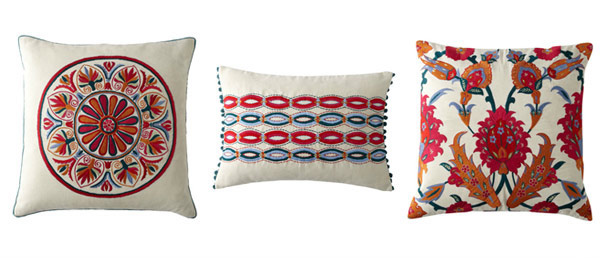 Design Accent Uzbek Pillows