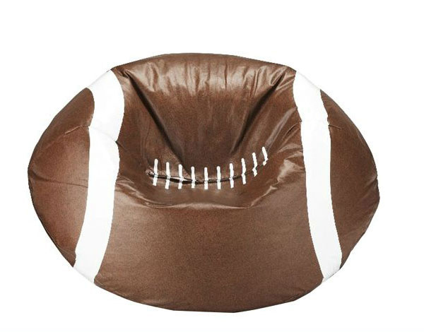 96-Inch Round Vinyl Bean Bag Football