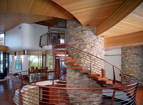 Chenequa Residence Stairs