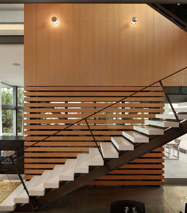 Graham Residence Stairs