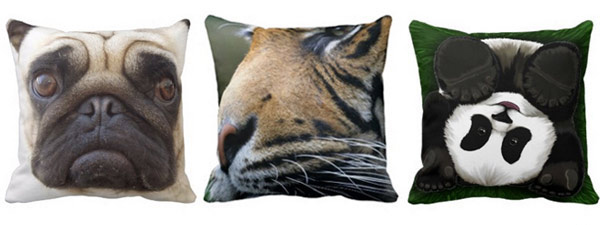Animal Throw Pillows