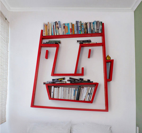 13 impressively unique shelf designs | home design lover