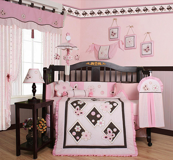 Baby Girl Butterfly Bedroom Ideas d co chambre b b th me des