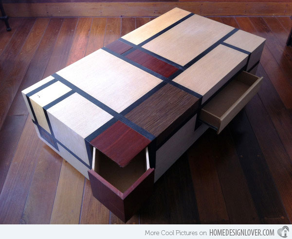 14 stunning multi-functional coffee tables | home design lover