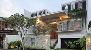 The Captivating Static House in Jakarta