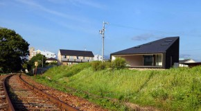 The Unou House of Japan – A Home by the Train Tracks