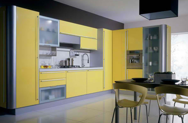 15 yellow modular kitchen ideas home design lover Modular kitchen design colors