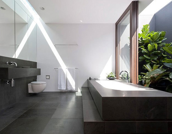 Flipped House Bathroom