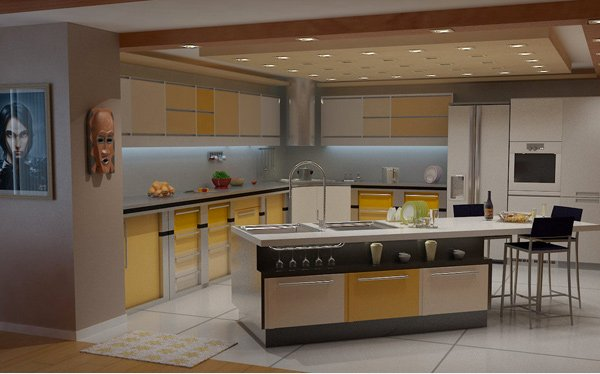Kitchen Design With Mini Bar 20 modern and functional kitchen bar designs | home design lover