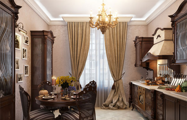Fabulously Attractive Classical Dining Room Designs Home