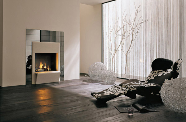Feel the Warmth of Style from 20 Modern Fireplace Designs Home