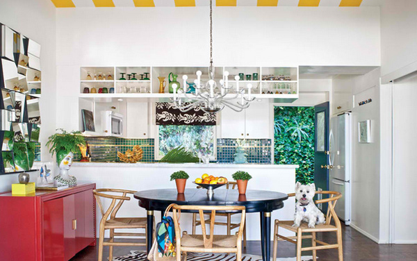 Adorable Multi Colored Kitchen Designs Home Design Lover