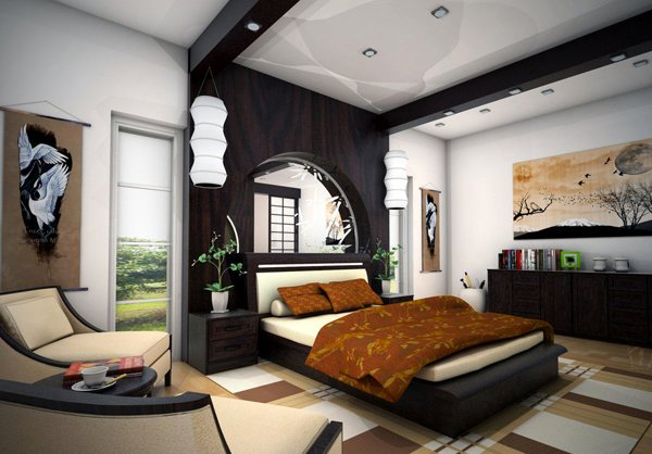 Zen Bedroom Concept