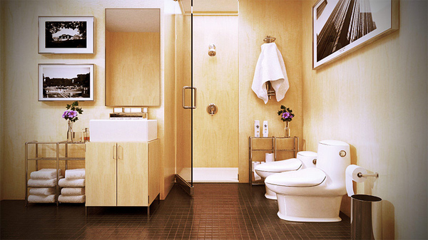 Bathroom by HongPhi
