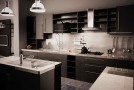 a black kitchen designs