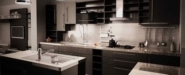 15 Bold and Black Kitchen Designs