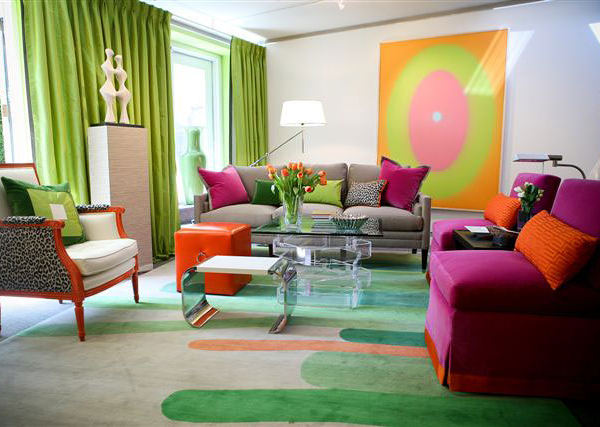 15 Colorful Living Room Designs For A Dynamic Look Home