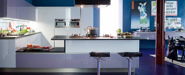 15 Amazingly Cool Blue Kitchen Ideas