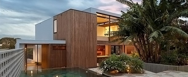 The Contemporary Flipped House in South Wales, Sydney Australia