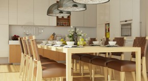 Get Creative in Accommodating More People in the Dining Room