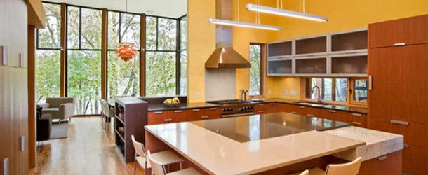 15 Yellow Modular Kitchen Ideas