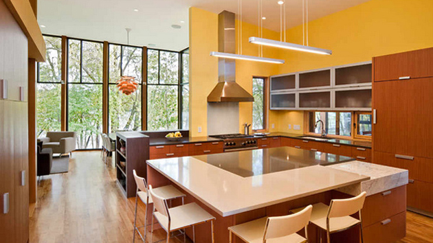 15 yellow modular kitchen ideas | home design lover