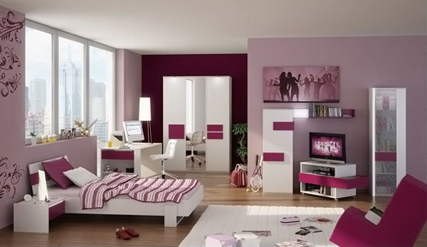 3D Teen Bedroom