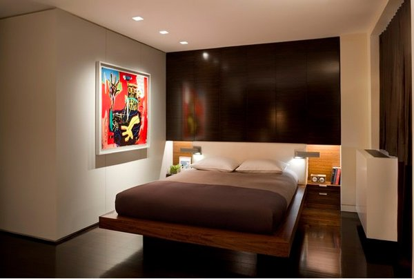 20 modern contemporary masculine bedrooms home design lover - Masculine bedroom design ...