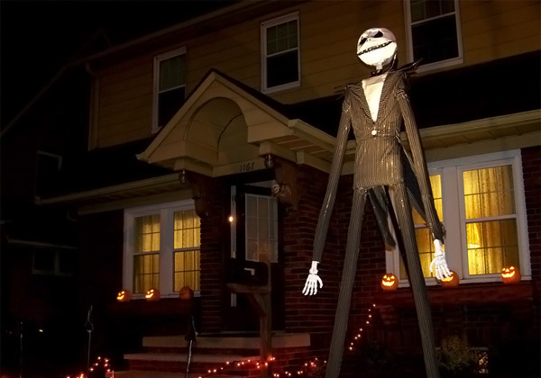 JackSkellington Yard Decoration