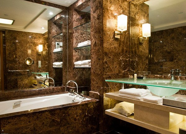 Pics For Chocolate Brown Bathroom Ideas