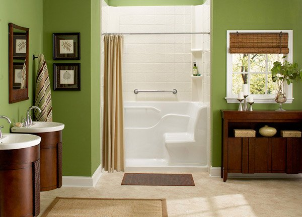 Seated Shower Tropic 2