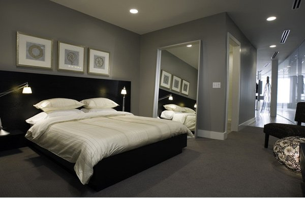20 modern contemporary masculine bedrooms home design lover Masculine paint colors