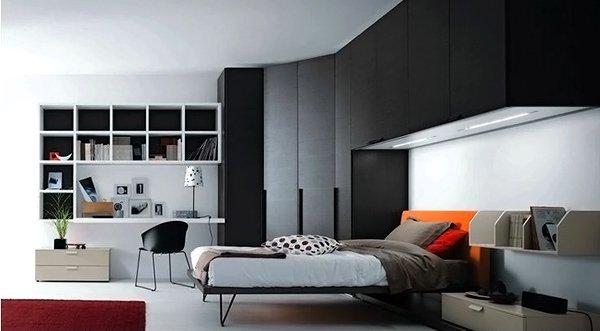 Teenage Bedroom Composition 8
