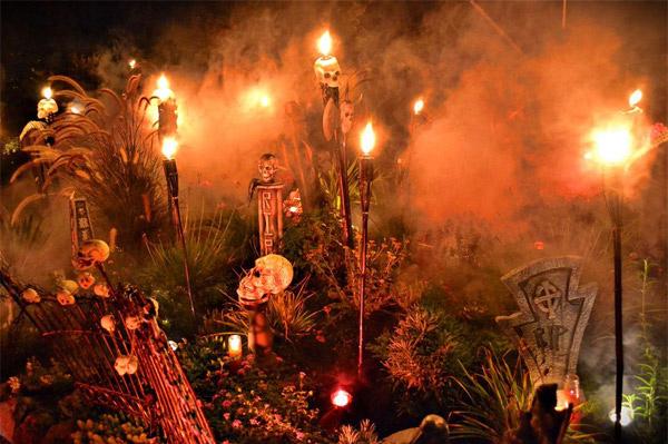 Boneyard halloween design