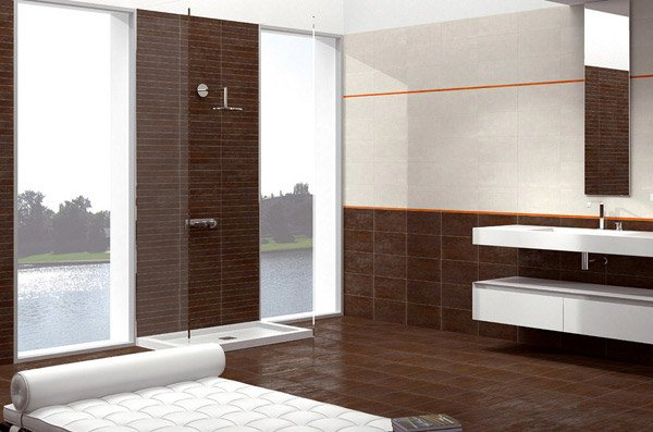 sophisticated brown bathroom ideas  home design lover, Bathroom decor