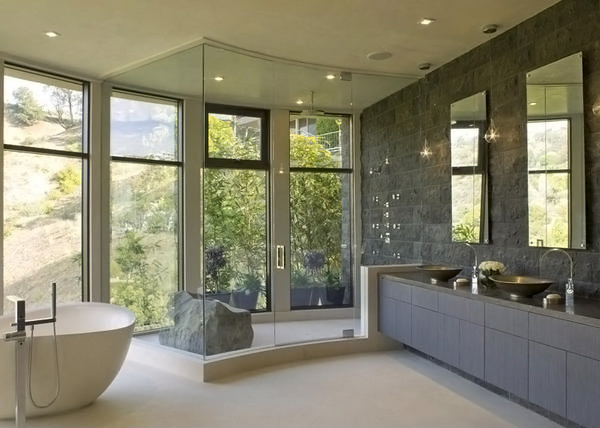 Master Bathroom Designs 2012 a look at 15 sophisticated gray bathroom designs | home design lover