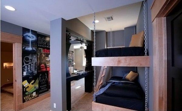 20 teenage boys bedroom designs home design lover. Black Bedroom Furniture Sets. Home Design Ideas