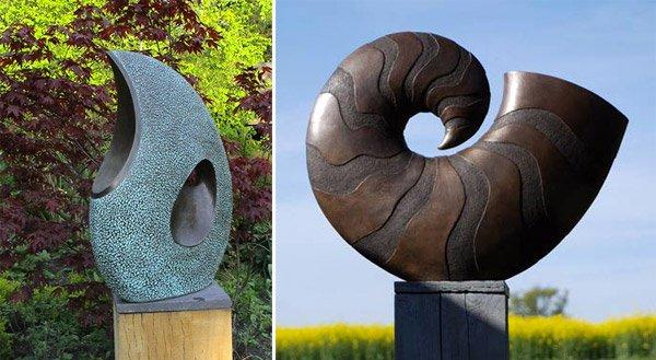 Abstract Garden Sculpture
