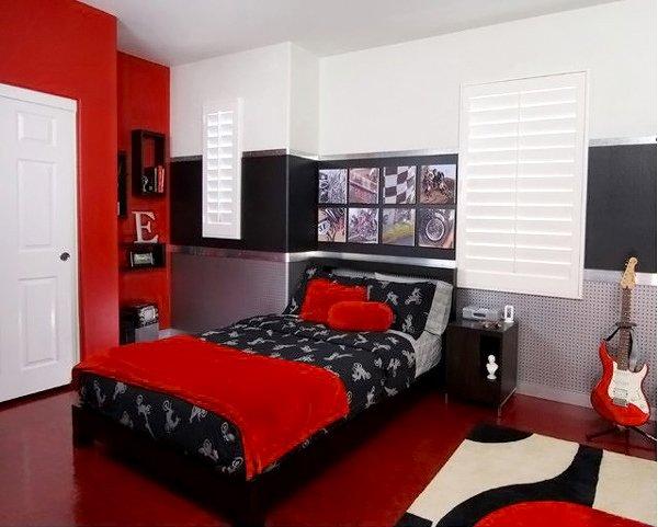 Edgy Teen Bedroom