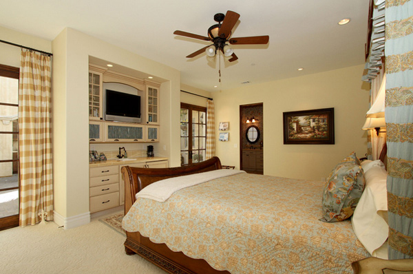 Beautiful Country Inspired Bedroom