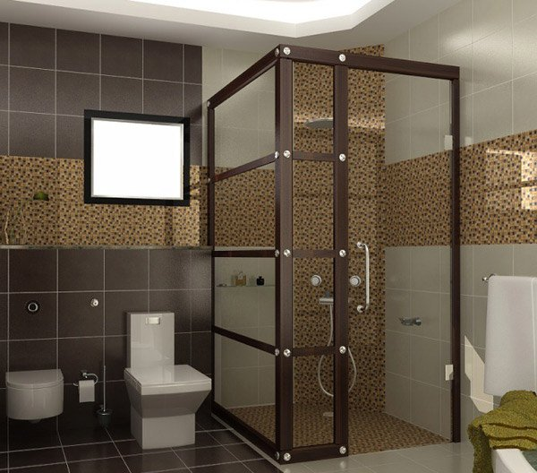 18 sophisticated brown bathroom ideas home design lover Beige brown bathroom design