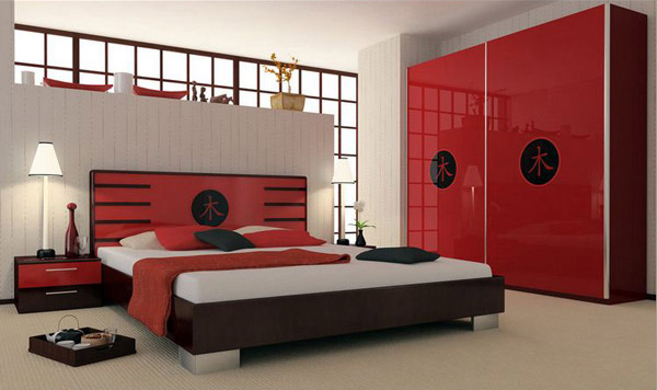 Asia Style Bedroom