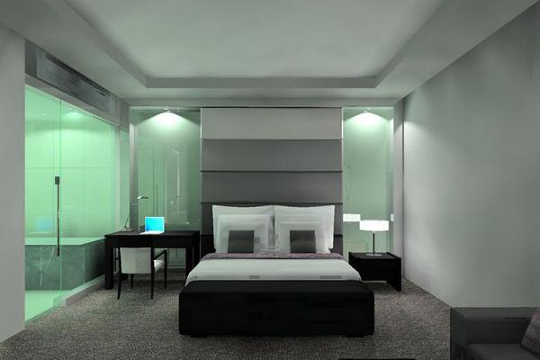 Dark Light Bedroom Suite