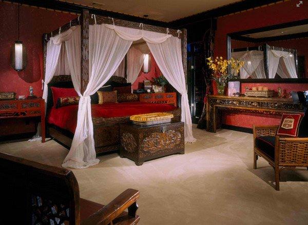 asia bedroom designs
