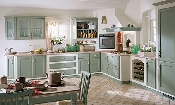 Kitchen Design Vintage Style 15 wonderfully made vintage kitchen designs | home design lover