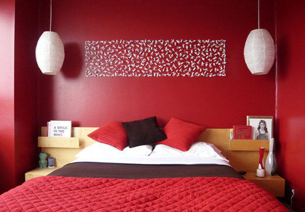 Matt's Color of Passion Bedroom