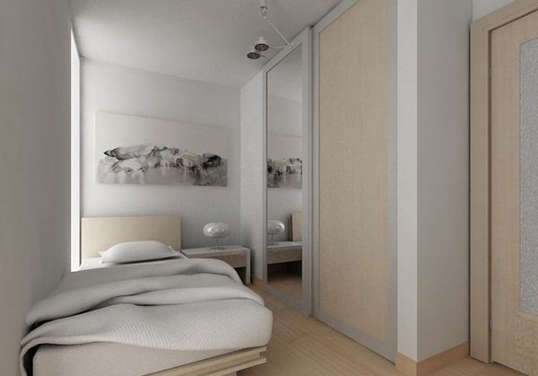 15 small bedroom designs home design lover for Cabinet designs for small bedroom