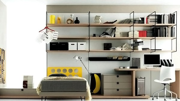Teenage Bedroom Composition 2