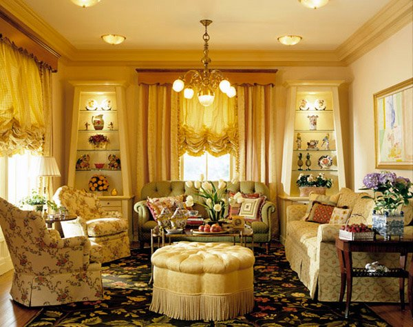 Cozy Country Living Room Ideas
